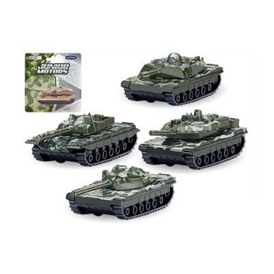 Танк Battle Defender в боевом камуфляже, 1:50 Autotime (Autogrand)