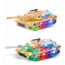 Боевой танк (свет, звук) Zhorya