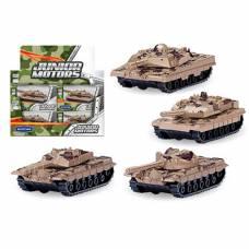 Игрушечный танк Junior Motors - Combat Defender, 1:50 Autotime (Autogrand)