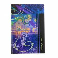 Колледж-тетрадь А5, 160 листов клетка College book, твердая обложка Арго