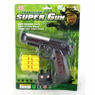 Игрушечный пистолет с пулями Super Gun