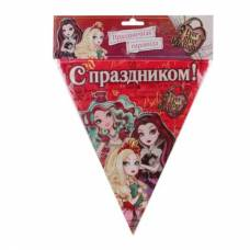 Гирлянда-флаги Ever After High
