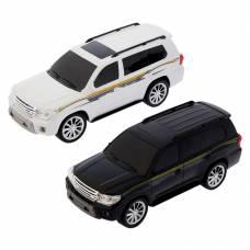 Машина р/у Toyota Cruiser (на бат. свет, звук), 1:16