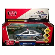 Металлическая машина Toyota Corolla - Полиция, 12 см Технопарк