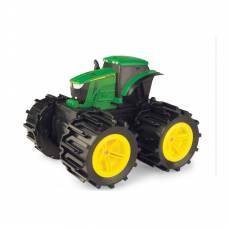 Трактор John Deere - Mega Monster Wheels (свет, звук) Tomy