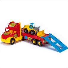Игровой набор Super Truck - Эвакуатор с трактором Wader