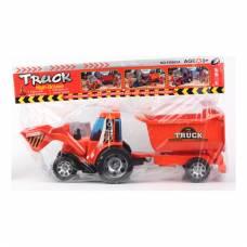 Инерционный трактор с прицепом Shenzhen Toys