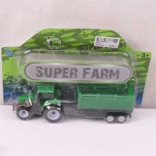 Инерционный трактор Super Farm с прицепом
