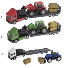 Игровой набор Tractor Transporter HTI