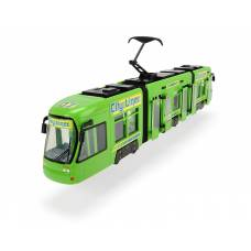 Городской трамвай City Liner, зеленый, 46 см Dickie