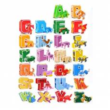 Трансбот Lingvo Zoo - Буквы английского алфавита 1TOY