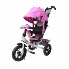 Трехколесный велосипед Comfort Air Car 2 (свет, звук), лиловый Moby Kids