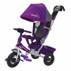 Трехколесный велосипед Beauty, фиолетовый Beauty
