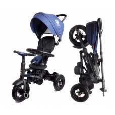 Трехколесный велосипед QPlay с родительской ручкой, синий Modi