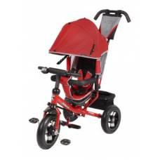 Трехколесный велосипед Comfort AIR, красный Moby Kids