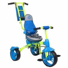Велосипед трёхколёсный Nika ВД3, 2017, цвет лимонный Ника