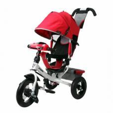 Трехколесный велосипед Comfort Air Car 2 (свет, звук), красный Moby Kids