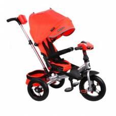 Трехколесный велосипед New Leader 360° AIR Car, красный Moby Kids