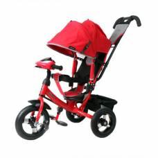 Трехколесный велосипед Comfort Air Car (свет, звук), красный Moby Kids