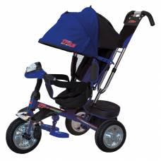 Трехколесный велосипед Trike (свет, звук), синий TRIKE