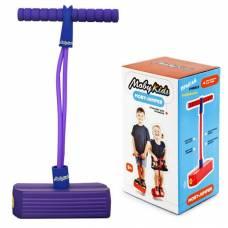 Тренажер для прыжков Moby-Jumper (звук), фиолетовый Moby Kids
