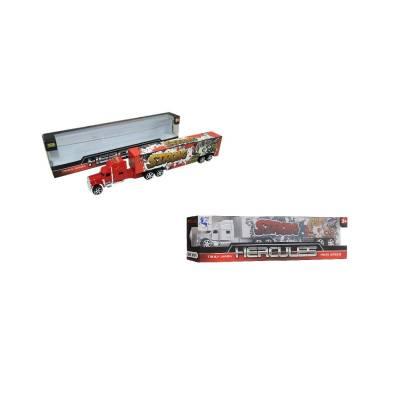 Инерционный грузовик Hercules Junfa Toys