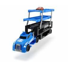 Автовоз с машинкой, 5 уровней, синий, 44.5 см Dickie