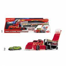 Игрушечный четырехуровневый автовоз с машинкой , 44.5 см Dickie