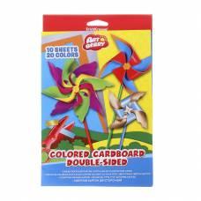 Цветной мелованный картон Artberry, формат В5, 10 листов Erich Krause
