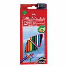 Цветные карандаши Eco с точилкой, 12 цветов Faber-Castell
