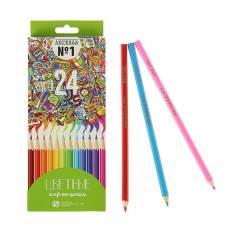 Карандаши 24 цвета