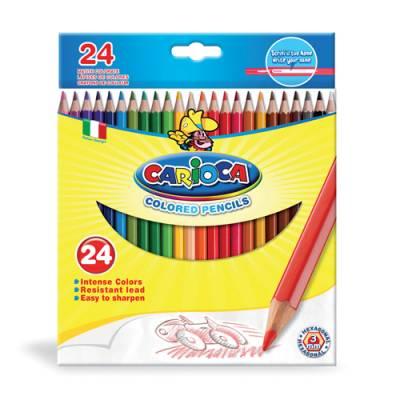 Набор цветных карандашей, 24 цвета Carioca