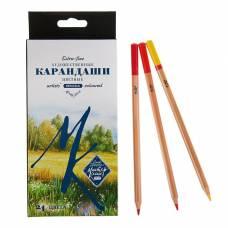 Карандаши художественные цветные «Мастер-класс», 24 цвета Невская палитра