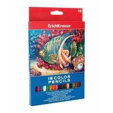 Цветные карандаши, 18 цветов Erich Krause