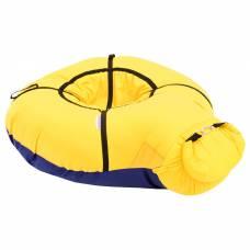 Надувные санки Бубинг цвет желтый Sima-Land