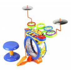 Барабанная установка Drum Band с педалью Shenzhen Toys