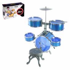 Барабанная установка «Большой музыкант» со стульчиком Sima-Land