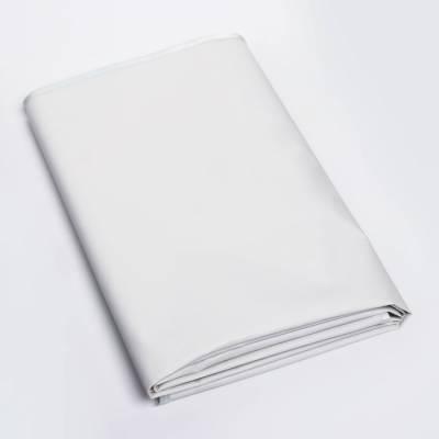 Клеенка 60*120см., на резинке, арт. 51336, ПВХ, с окантовкой, цвет светло серый Витоша