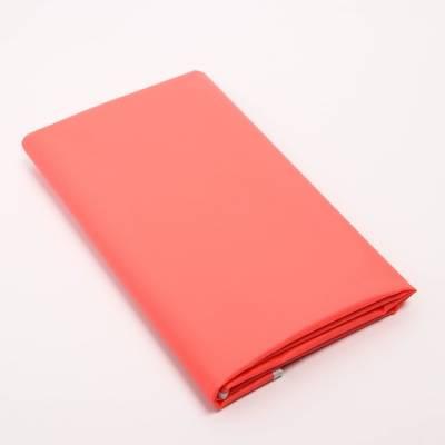 Клеенка 68*100 см., арт. 51350, ПВХ, с окантовкой, цвет корраловый Витоша