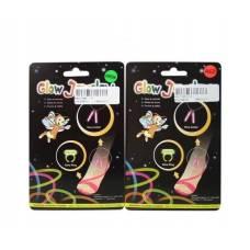 Набор светящихся аксессуаров Glow - Браслет на ногу и кольцо Junfa Toys