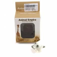 Кольцо Animal Empire - Белый медведь Shantou