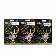 Набор светящихся аксессуаров Glow - Заколка и ожерелье Junfa Toys