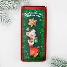 Набор значков «Волшебного Нового года», в коробке, 3 шт. Micio