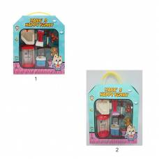 Набор мебели для кукол Manx' s Happy Family - Ванная, 8 предметов Shenzhen Toys