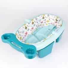 Ванночка для купания складная, цвет голубой Sima-Land