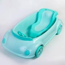 Ванночка детская с горкой и сливом, цвет зеленый Sima-Land