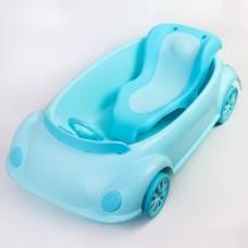Ванночка детская с горкой и сливом, цвет голубой Sima-Land