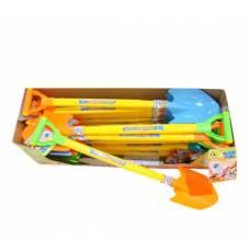 Детская лопата для игры в песочнице с выдвижной ручкой