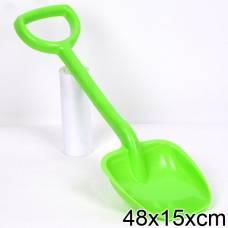 Детская лопата (салатовая), 48 см Нордпласт