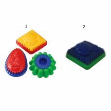Двухцветная формочка с рисунком для песочницы Spielstabil